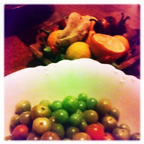 Green Tomato Chutney from the Cre8sound Cafe